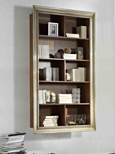 Mobili arredamenti it libreria sospesa con cornice for Parete attrezzata cornice sospesa